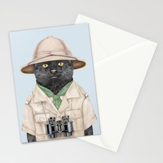 Safari Cat Stationery Cards