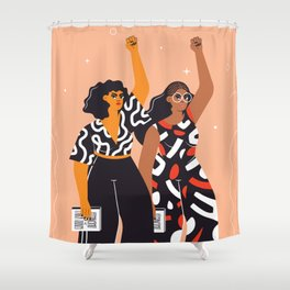 Feminism is for everybody Shower Curtain
