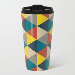 Colorful geometric   Pattern Travel Mug