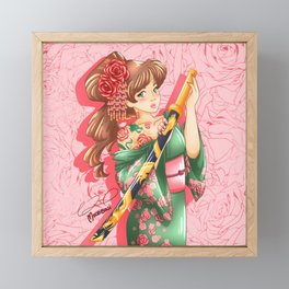 Bara-hime Framed Mini Art Print