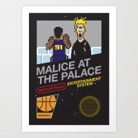 Malice At The Palace Art Print