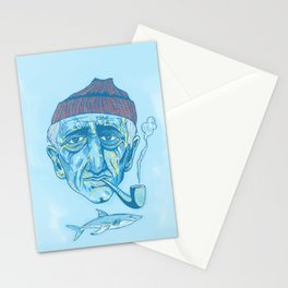 Cousteau. Stationery Cards