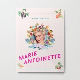 Marie Antoinette alternative movie poster Metal Print
