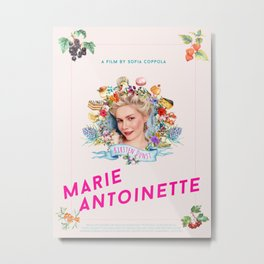 Marie Antoinette alternative movie poster Metal Print