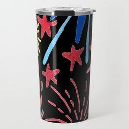 let's go see fireworks Travel Mug