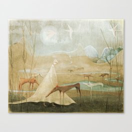 Finding Solace Canvas Print