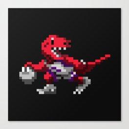 Ballin' Raptor Canvas Print