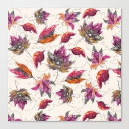Maple Pattern Canvas Print