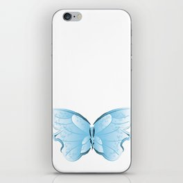 Cloudy Butterfly iPhone Skin