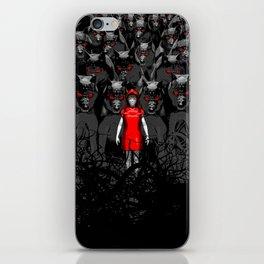 Girl N the Hood iPhone Skin