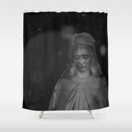 Silence I Shower Curtain