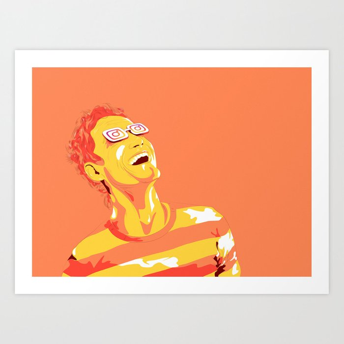Instargasm Art Print