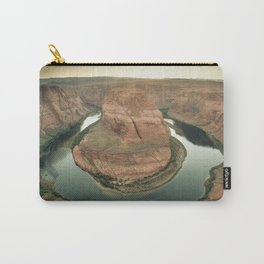 canyon country flow horseshoe bend arizona Carry-All Pouch