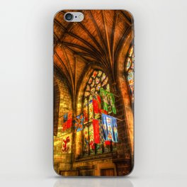 Evening Sun Cathedral iPhone Skin