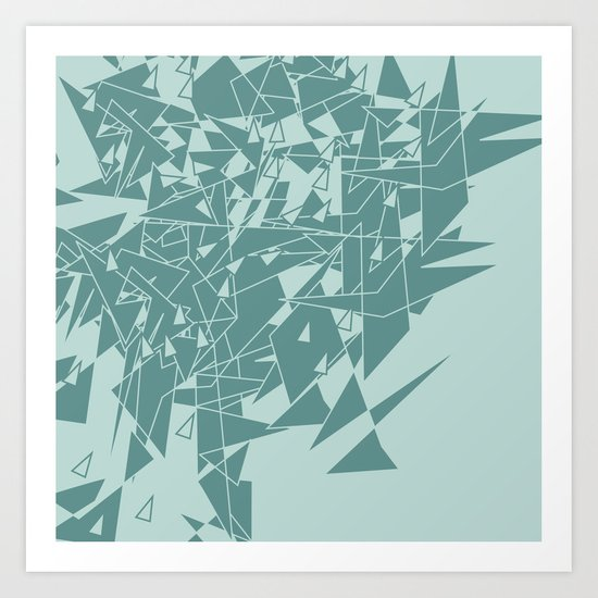Glass MG Art Print