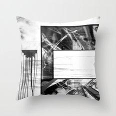 WRECKTANGLE Throw Pillow