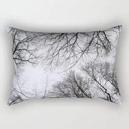 Winter Treetops Rectangular Pillow