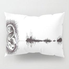 Hearing Damage Pillow Sham