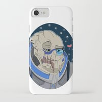 garrus iPhone & iPod Cases featuring Garrus Vakarian by ArtisticCole