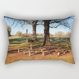 Country Worship Rectangular Pillow