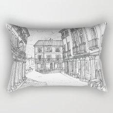 Calle Mayor of Alcalá Rectangular Pillow