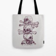 Skull Totem Tote Bag