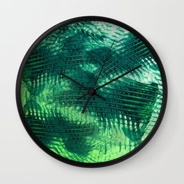 Crossing Greens Wall Clock