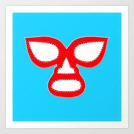 Luchador Mask Art Print
