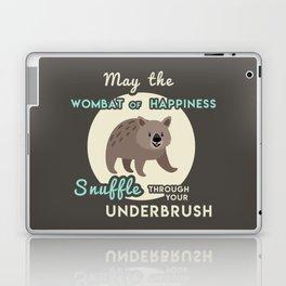 Wombat of Happiness Laptop & iPad Skin
