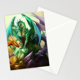 Wild Dragon Stationery Cards