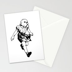 just a girl Stationery Cards
