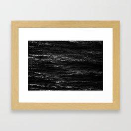 Ocean Death Framed Art Print