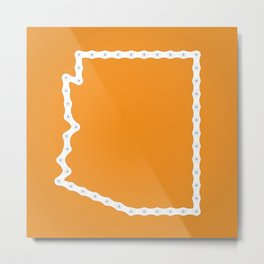 Arizona: United Chains of America Metal Print
