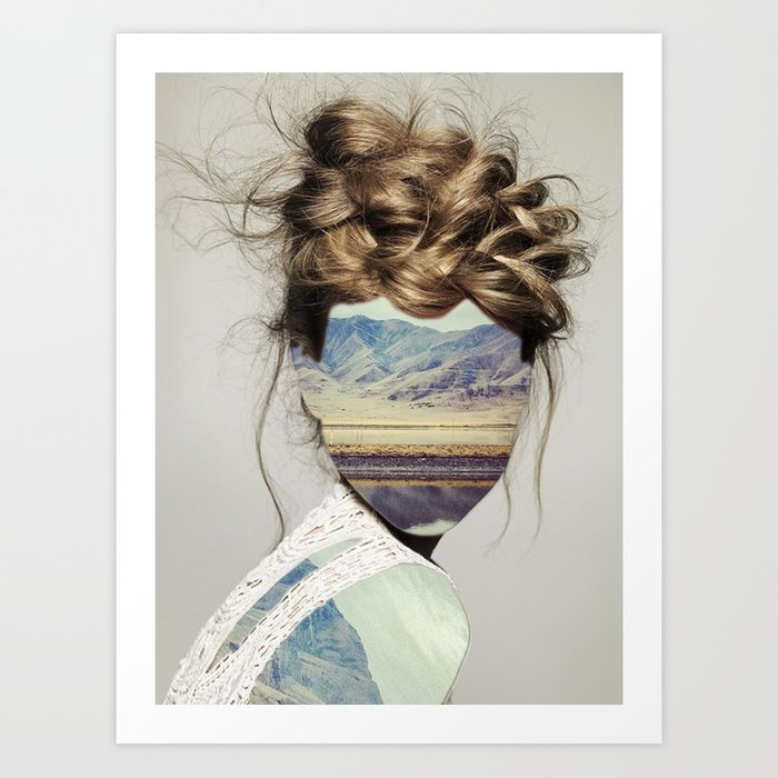 Haircut 1 Art Print