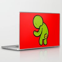 butt Laptop & iPad Skins featuring Butt-On by Artistic Dyslexia