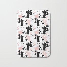 Little cats Bath Mat