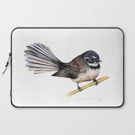 New Zealand Fantail Laptop Sleeve