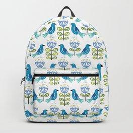 Mid-Century Modern Birds Backpack