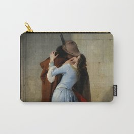 Francesco Hayez - The Kiss Carry-All Pouch