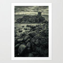 Kinbane Castle III Art Print