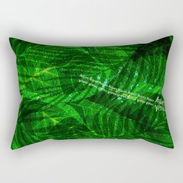Leaves V12 Rectangular Pillow