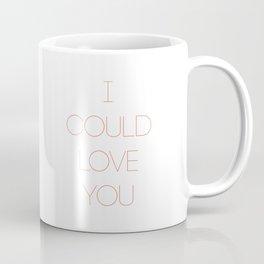 I could love you- sweet Tinder me red Coffee Mug