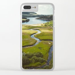 Stunning Peak District National Park Reservoirs Clear iPhone Case