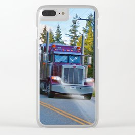 Trans Canada Trucker Clear iPhone Case