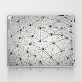 Cryptocurrency network Laptop & iPad Skin