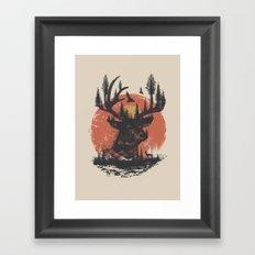 Look Deep Into Nature Framed Art Print
