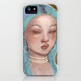 Saint Teen iPhone Case