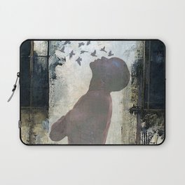 The dream of freedom Laptop Sleeve