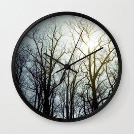 treeline* Wall Clock
