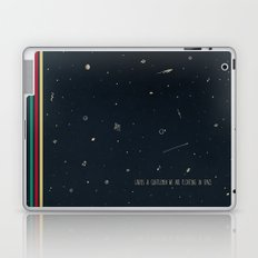 We are floating in space Laptop & iPad Skin